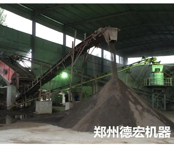 河南新郑1250新型立式 复合制砂机现场