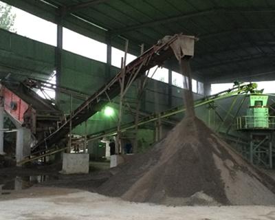 河卵石制砂机的防生锈方法