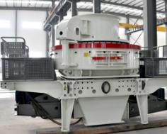 时产200吨的河卵石制砂生产线