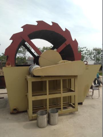 配合制砂机使用洗砂设备较低故障率1