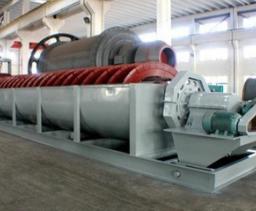 机制砂干法生产工艺用螺旋分级机